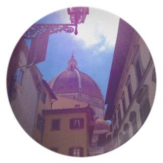 Prato Abóbada de Brunelleschi em Florença, Italia