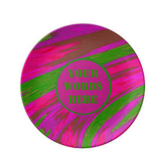 Prato Abstrato cor-de-rosa brilhante da abanada da cor
