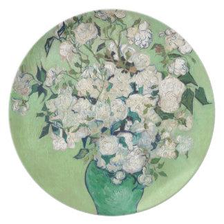 Prato Ainda vida: Vaso com rosas - Vincent van Gogh