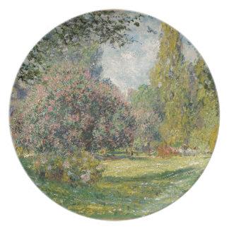 Prato Ajardine o Parc Monceau - Claude Monet