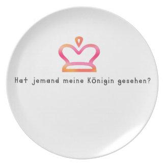 Prato Alemão - rainha