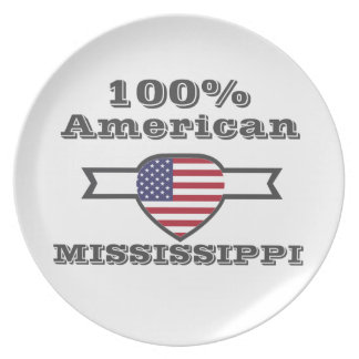 Prato Americano de 100%, Mississippi