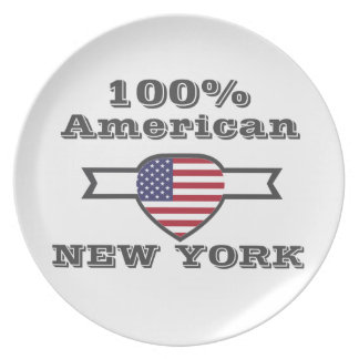 Prato Americano de 100%, New York
