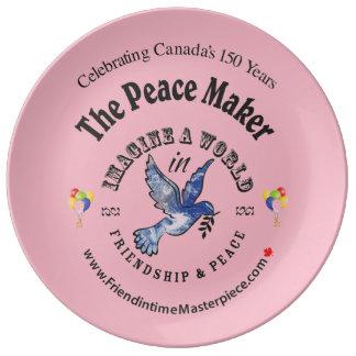 Prato Amizade & paz