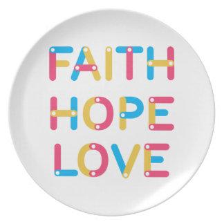 Prato amor 2 da esperança da fé