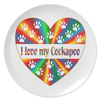 Prato Amor de Cockapoo