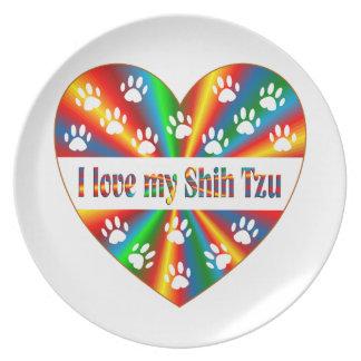 Prato Amor de Shih Tzu