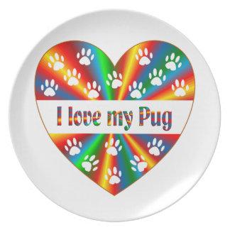 Prato Amor do Pug