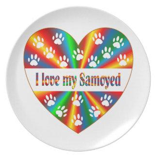 Prato Amor do Samoyed