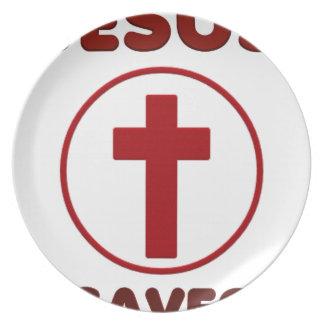 Prato Amores de Jesus, religião Cross.pn da cristandade