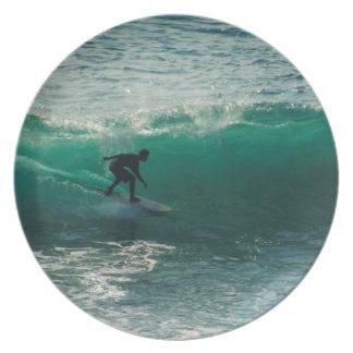 Prato aperfeiçoe a onda