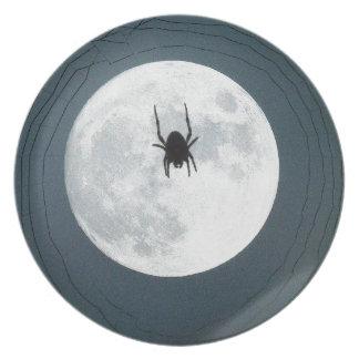 Prato Aranha da lua