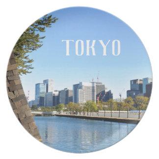 Prato Arranha-céus em Tokyo, Japão