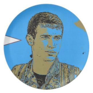 Prato Arte curdo 4 do lutador de YPG