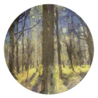 Prato Arte da floresta de Vincent van Gogh