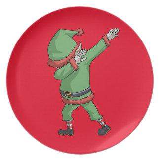 Prato Artigos engraçados do presente do Natal da