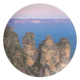 Prato As três irmãs, montanhas azuis, Novo Gales do Sul