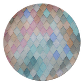 Prato Azulejos de telhado coloridos - PaintingZ