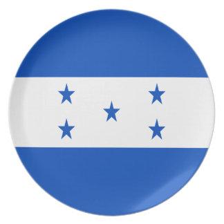 Prato Baixo custo! Bandeira de Honduras