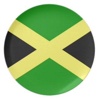 Prato Baixo custo! Bandeira de Jamaica