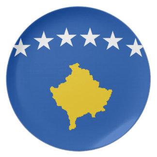 Prato Baixo custo! Bandeira de Kosovo