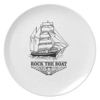 Prato balance o barco grande yeah