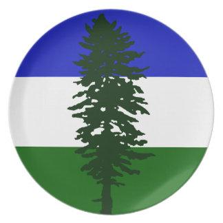 Prato Bandeira de Cascadia
