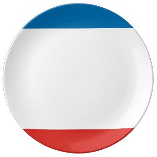 Prato Bandeira de Crimeia