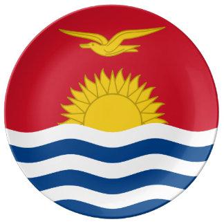 Prato Bandeira de Kiribati