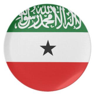 Prato Bandeira de Somaliland