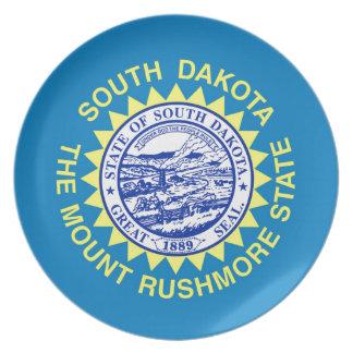 Prato Bandeira de South Dakota