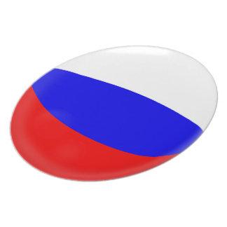 Prato Bandeira do russo de Rússia