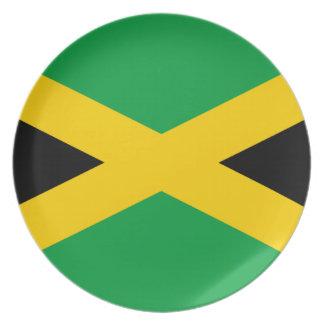 Prato Bandeira jamaicana