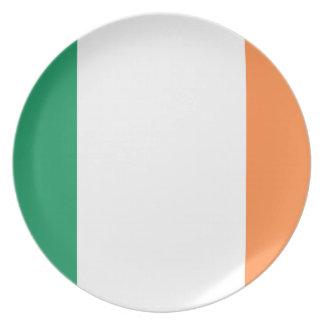 Prato Bandeira nacional do mundo de Ireland