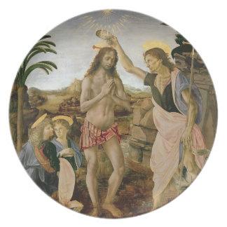 Prato Baptismo do cristo