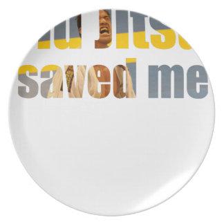 Prato BJJ salvar me