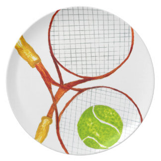 Prato Bola de tênis Sketch2