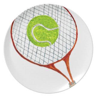 Prato Bola de tênis Sketch3