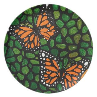 Prato borboletas