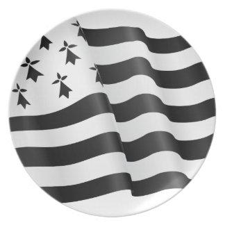 Prato Bretão de Drapeau (bandeira bretão)