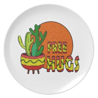 Prato Cacto - abraços livres