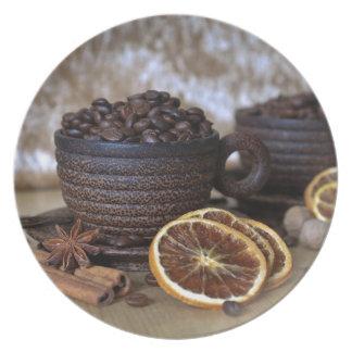 Prato Café e especiarias