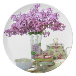 Prato Calendário 2018 do tempo do chá