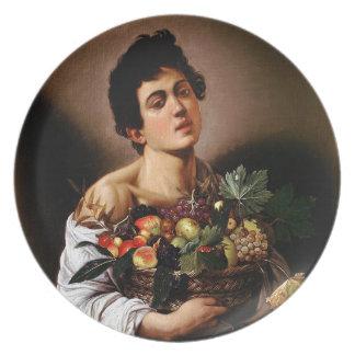 Prato Caravaggio - menino com uma cesta de trabalhos de
