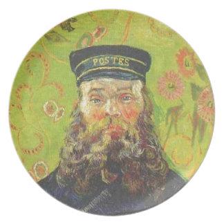 Prato Carteiro Joseph Roulin - Vincent van Gogh do
