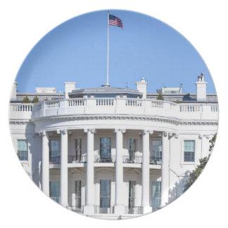 Prato Casa branca dos Estados Unidos - Washington DC