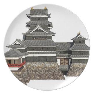 Prato Castelo japonês clássico