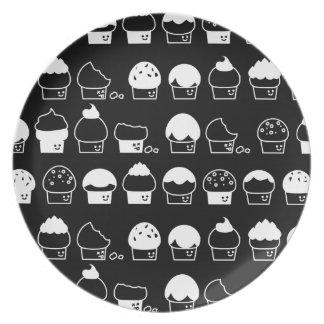 Prato Cavalcade do cupcake - teste padrão de repetição