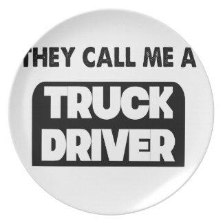 Prato chamam-me um camionista