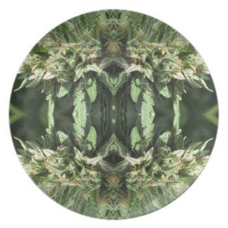Prato Chamas 1 do cristal